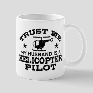 Husband Is A Helicopter Pilot Mug
