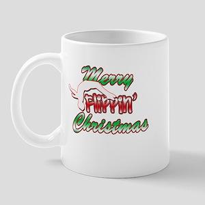 Gymnastics Flippin' Christmas Mug