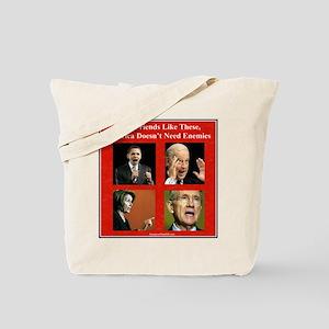 """""""America's Friends & Enemies"""" Tote Bag"""