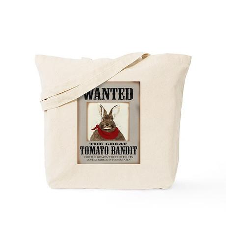Tomato Bandit Tote Bag