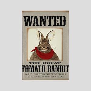 Tomato Bandit Rectangle Magnet