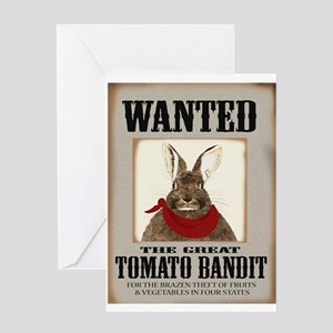 Tomato Bandit Greeting Card