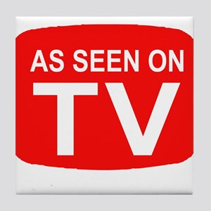 As Seen On TV Tile Coaster
