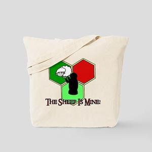 The Sheep Is Mine Catan Tote Bag