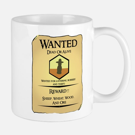 Catan Wanted Poster Mug