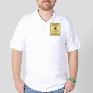 Catan Wanted Poster Golf Shirt