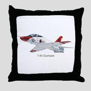 T-45 Goshawk Trainer Throw Pillow