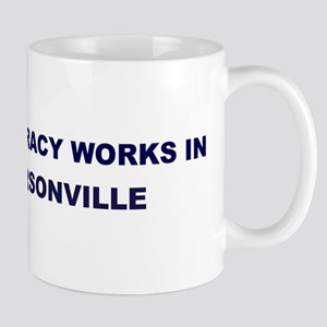 Democracy Works in HENDERSONV Mug