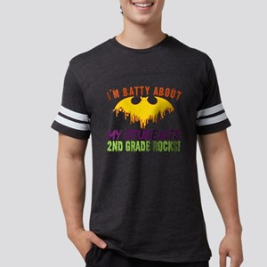 Im Batty About Students 2nd Grade Rocks Ha T-Shirt