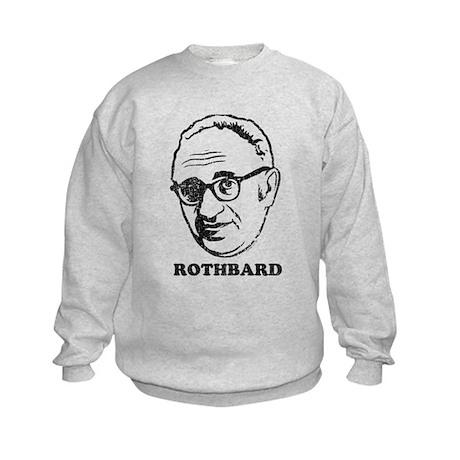 Murray Rothbard Kids Sweatshirt