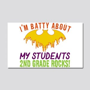 Im Batty About Students 2nd Gra Car Magnet 20 x 12