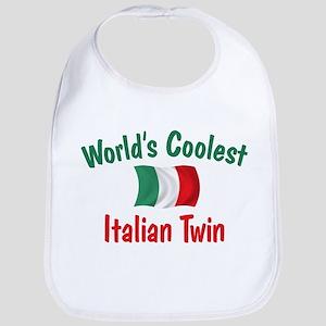 Coolest Italian Twin Bib