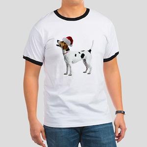English Foxhound Christmas Ringer T