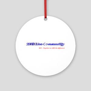 SETI Live Ornament (Round)