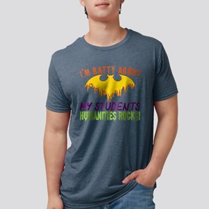 Im Batty About Students Humanities Rocks H T-Shirt