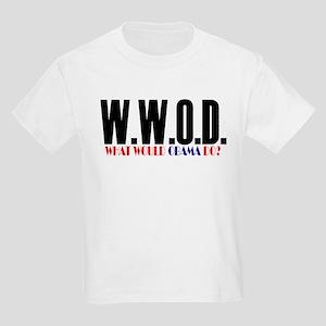 Barack Obama -- WWOD Kids Light T-Shirt