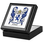 Achioli Family Crest Keepsake Box