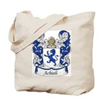 Achioli Family Crest Tote Bag