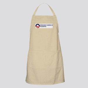 Democracy Works in PLACENTIA BBQ Apron
