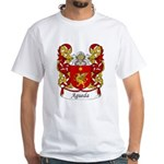 Agueda Family Crest White T-Shirt