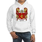 Agueda Family Crest Hooded Sweatshirt