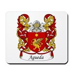 Agueda Family Crest Mousepad