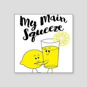 My Main Squeeze Funny Lemon Lover Sticker