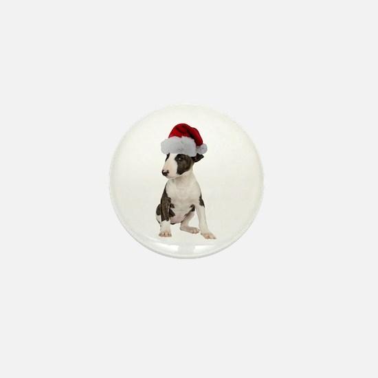 Bull Terrier Christmas Mini Button