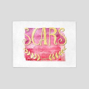 Scars 5'x7'Area Rug