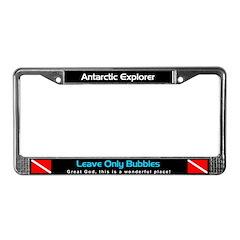 Antarctica License Plate Frame