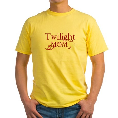 Twilight Mom Yellow T-Shirt