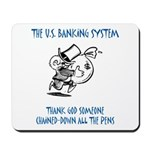 Banking System Mousepad