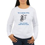 Banking System Women's Long Sleeve T-Shirt