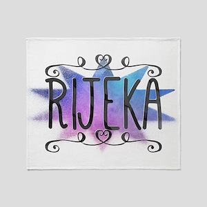 Rijeka Throw Blanket
