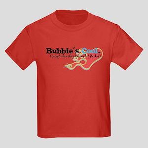 Bubbie's Hot Flashes Kids Dark T-Shirt