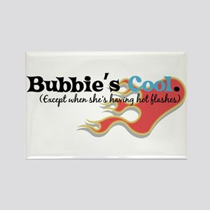Bubbie's Hot Flashes Rectangle Magnet