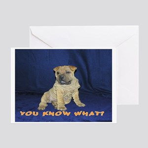 Know what Pei Greeting Card