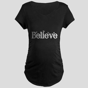 Pure Believe Maternity Dark T-Shirt