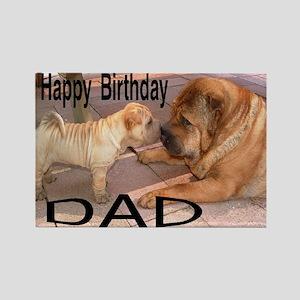 Birthday Dad Rectangle Magnet
