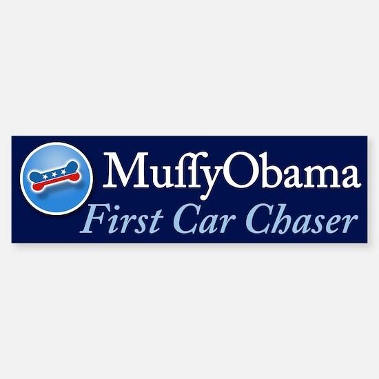 First Car Chaser Bumper Bumper Bumper Sticker