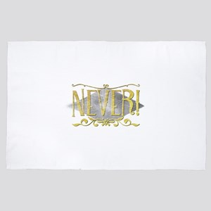 Never! 4' x 6' Rug