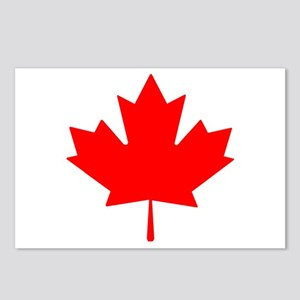 Canadian Maple Leaf Postcards (Package of 8)