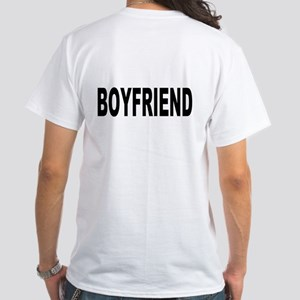 Boyfriend White T-Shirt