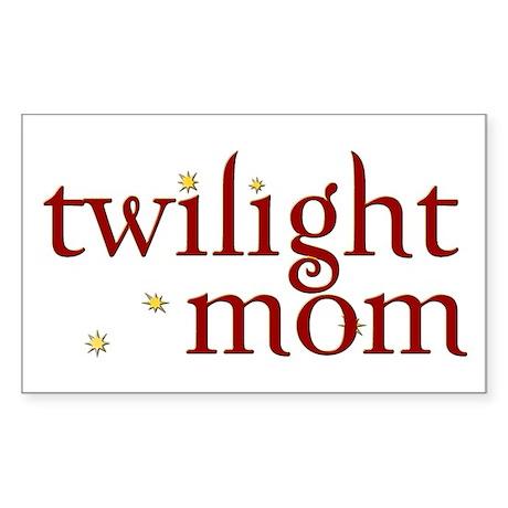 Twilight Mom Rectangle Sticker