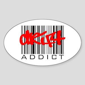 Drift Addict Sticker (Oval)