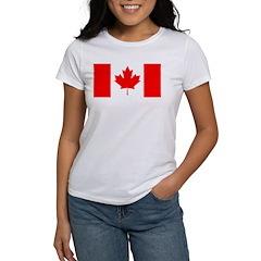 Candian Flag Women's T-Shirt