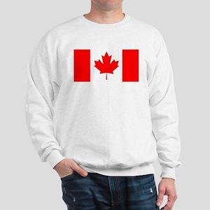 Candian Flag Sweatshirt