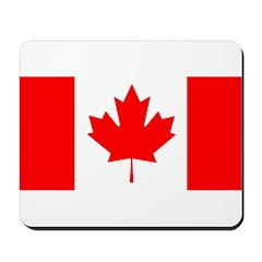 Candian Flag Mousepad