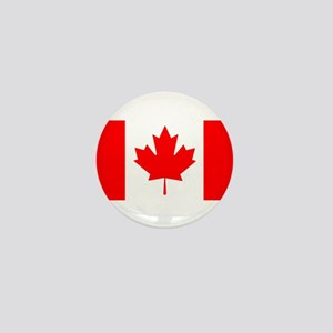 Candian Flag Mini Button