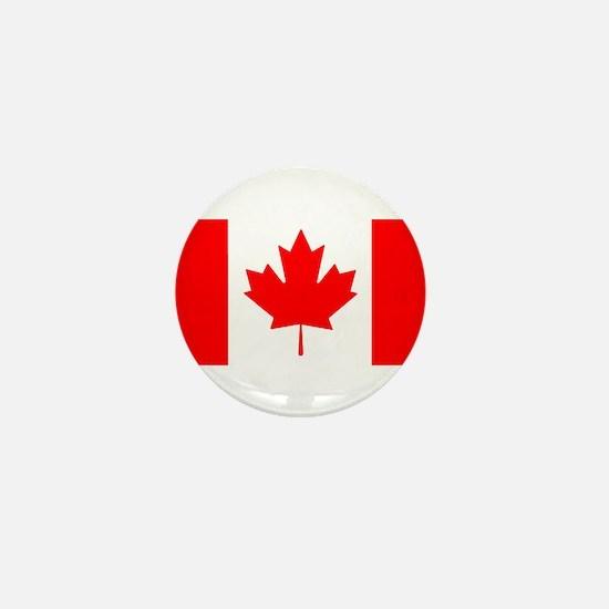 Candian Flag Mini Button